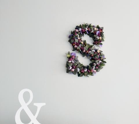 Floral Decor Custom Order Design Examples