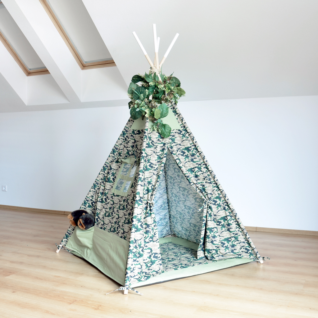 Teepee for a little hunter