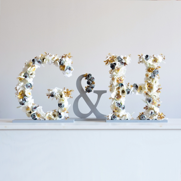 Table Sign Floral Decor